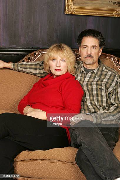Tess Harper and Chris Sarandon during 2005 Sundance Film Festival Loggerheads Portraits at HP Portrait Studio in Park City Utah United States