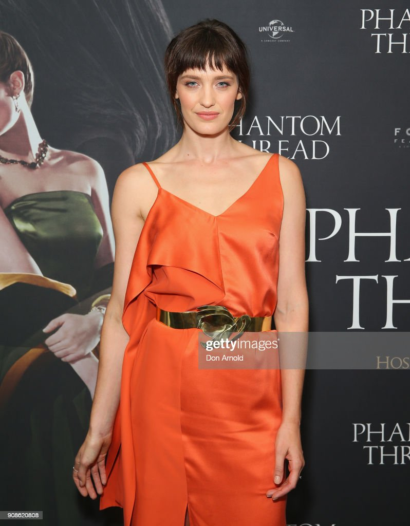 Phantom Thread Sydney Screening - Arrivals