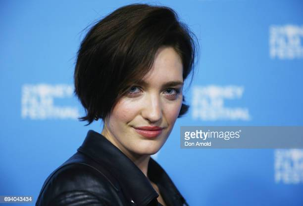 Tess Haubrich attends the 'Una' premiere as part of the 2017 Sydney Film Festival at State Theatre on June 9 2017 in Sydney Australia