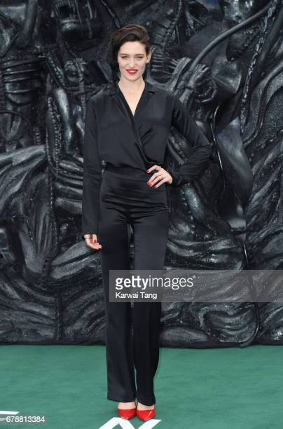 Tess Haubrich attends the World Premiere of 'Alien Covenant' at Odeon Leicester Square on May 4 2017 in London England