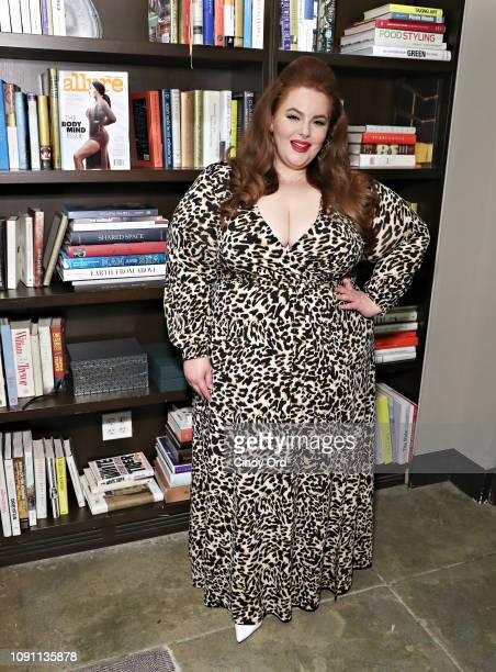 """Tess Holliday attends as Allure and Ulta Beauty host """"See Yourself, See Each Other"""" panel discussion at Neuehouse on January 29, 2019 in New York..."""