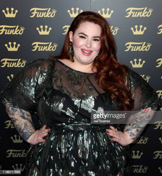 Tess Holliday attends the Funko Hollywood VIP Preview Event at Funko Hollywood on November 07 2019 in Hollywood California