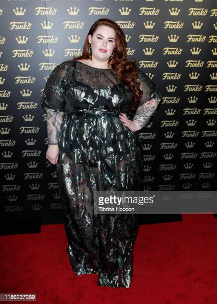 Tess Holliday attends the grand opening of Funko Hollywood at Funko Hollywood Store on November 07, 2019 in Hollywood, California.