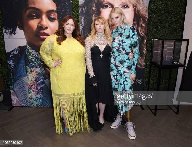 Tess Holliday Natasha Lyonne and Lauren Wasser attend ELLE's 25th Annual Women In Hollywood Celebration presented by L'Oreal Paris Hearts On Fire and...