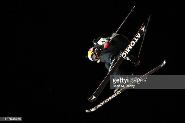 Tess Ledeux of France competes during the Ladies' Big Air Final of the FIS Freestyle Ski World Championships on February 02 2019 at Canyons Village...