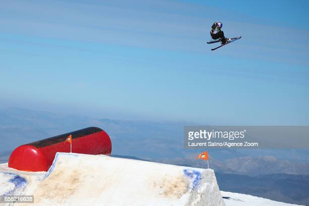 Tess Ledeux of france wins the gold medal during the FIS Freestyle Ski Snowboard World Championships Slopestyle on March 19 2017 in Sierra Nevada...