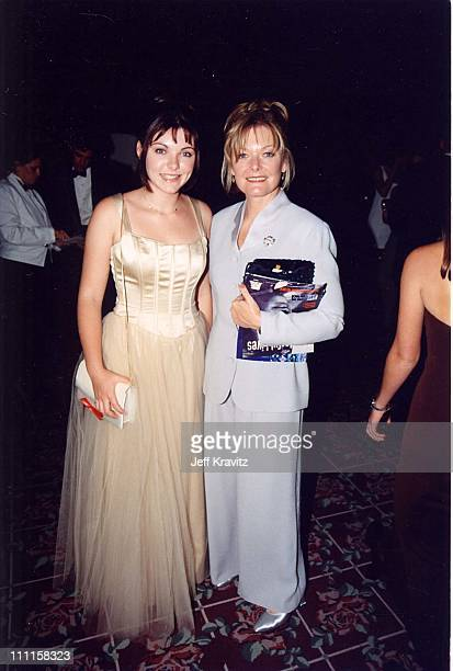 Tess Lynch Curtin and Jane Curtin during 49th Annual Primetime Emmy Awards in Los Angeles California United States
