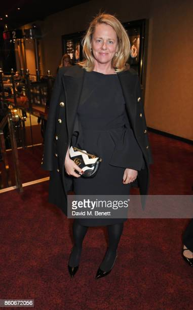 Tess Macleod Smith attends the PORTER Lionsgate UK screening of Film Stars Don't Die In Liverpool at Cineworld Leicester Square on October 12 2017 in...