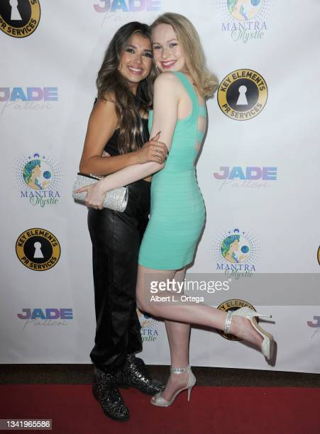 Tess Monpere and Rachelle Henry attend the EP Release Party for Jade Patteri held at The Federal NoHo on September 21, 2021 in North Hollywood,...