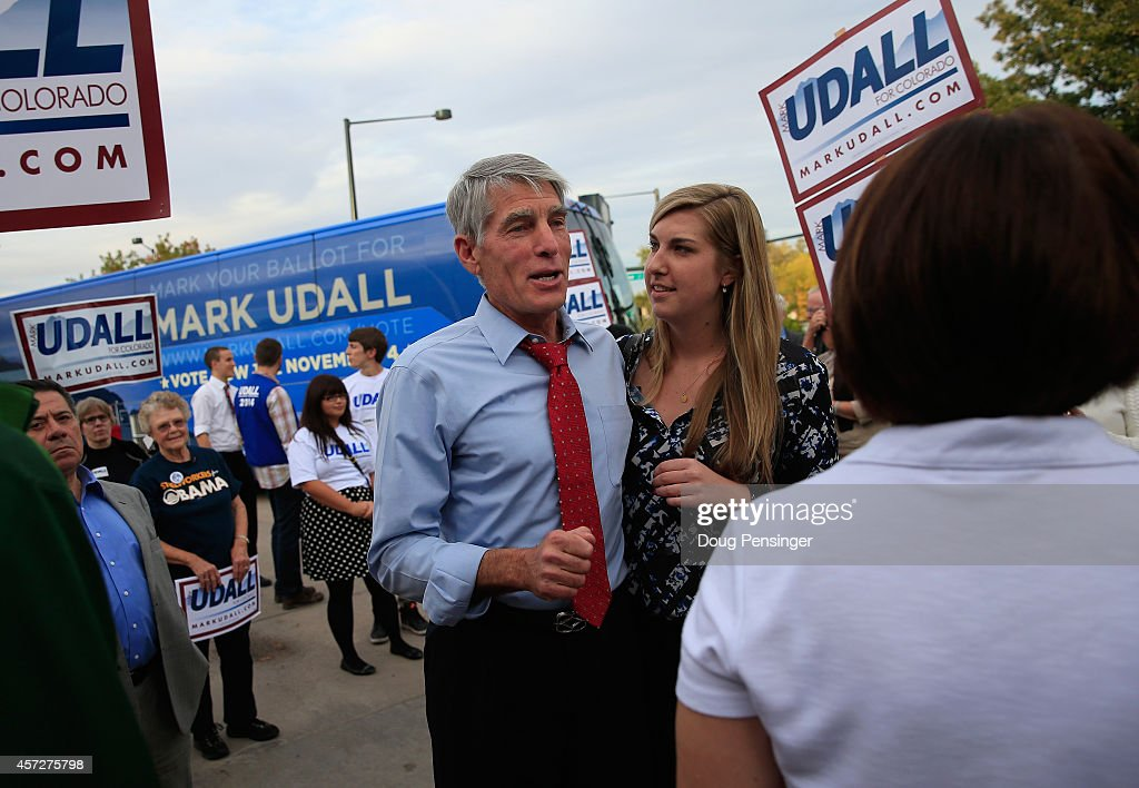 Sen. Mark Udall Holds Campaign Rallies In Denver Area