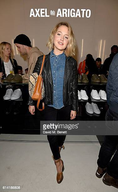 Tess Ward attends the Axel Arigato London store launch on October 12 2016 in London England