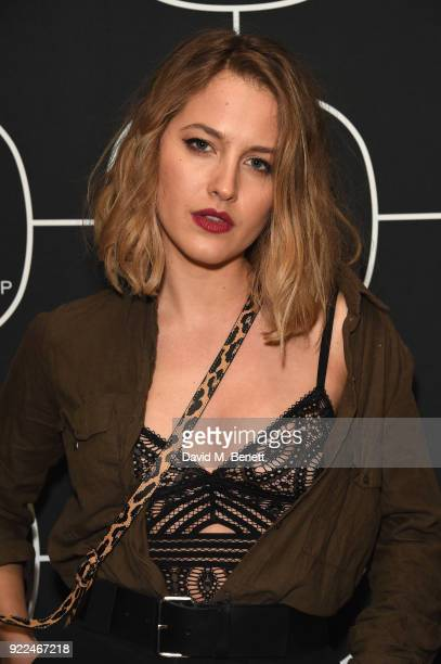 Tess Ward attends the Brits Awards 2018 After Party hosted by Warner Music Group Ciroc and British GQ at Freemasons Hall on February 21 2018 in...
