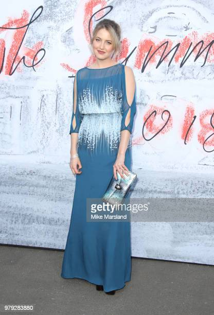 Tess Ward attends The Serpentine Summer Party at The Serpentine Gallery on June 19 2018 in London England