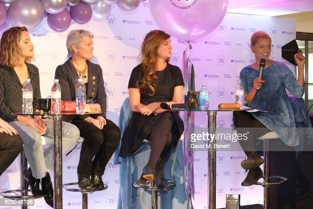 Tess Ward, Tracy Edwards, Karren Brady and Gemma Cairney attend as Badoo makes a bold statement this International Women's Day with their...