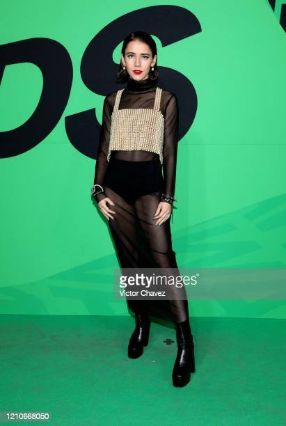 Tessa Ía attends the 2020 Spotify Awards at the Auditorio Nacional on March 05 2020 in Mexico City Mexico