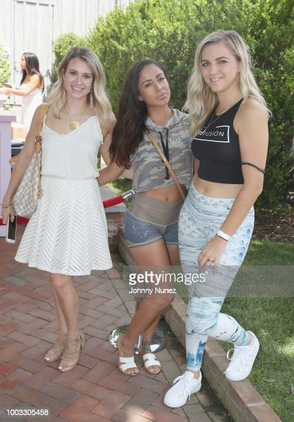 Tessa Breeden and TruFusion team attend The Inaugural Hamptons Interactive Influencer Brunch Hosted By East End Taste Produced By Ticket2Events at...