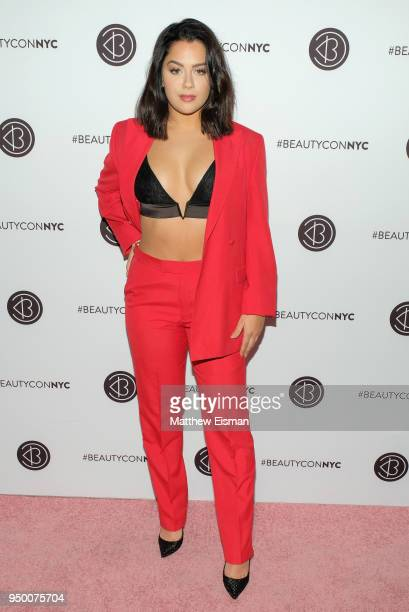 Tessa Brooks attends Beautycon Festival NYC 2018 Day 2 at Jacob Javits Center on April 22 2018 in New York City