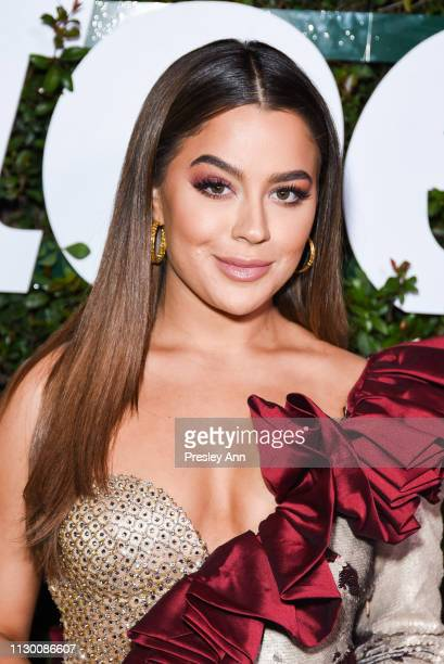 Tessa Brooks attends Teen Vogue's 2019 Young Hollywood Party Presented By Snap at Los Angeles Theatre on February 15 2019 in Los Angeles California