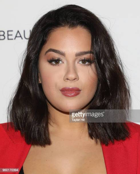 Tessa Brooks attends the 2018 Beautycon NYC at The Jacob K Javits Convention Center on April 22 2018 in New York City