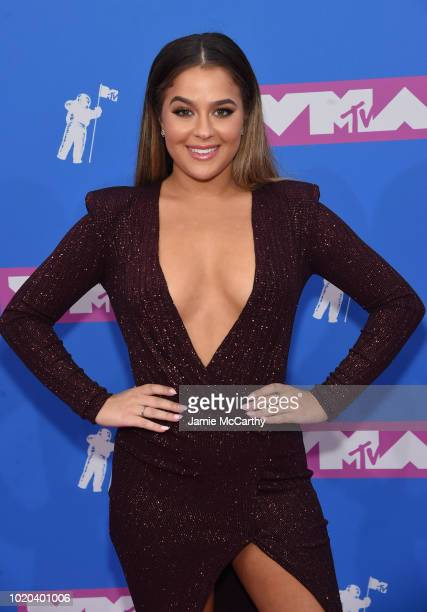 Tessa Brooks attends the 2018 MTV Video Music Awards at Radio City Music Hall on August 20 2018 in New York City