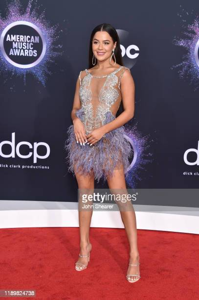 Tessa Brooks attends the 2019 American Music Awards at Microsoft Theater on November 24 2019 in Los Angeles California