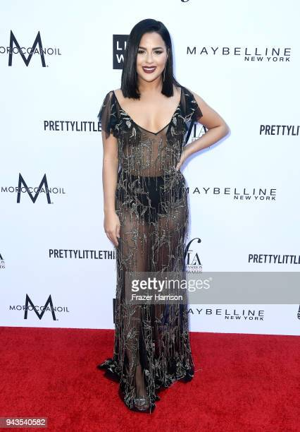 Tessa Brooks attends The Daily Front Row's 4th Annual Fashion Los Angeles Awards at Beverly Hills Hotel on April 8 2018 in Beverly Hills California