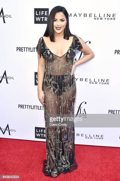 Tessa Brooks attends The Daily Front Row's 4th Annual Fashion Los Angeles Awards Arrivals at The Beverly Hills Hotel on April 8 2018 in Beverly Hills...