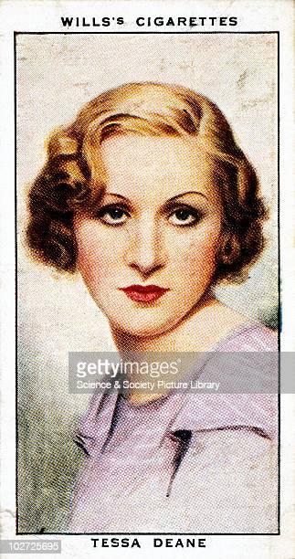 'Tessa Deane' cigarette card Wills' cigarette card from 'Radio Celebrities' Series 1 1934 Wills' cigarette card from 'Radio Celebrities' Series 1 1934