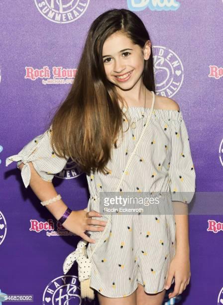 Tessa Espinola attends Hayden Summerall's 13th Birthday Bash at Bardot on April 15 2018 in Hollywood California