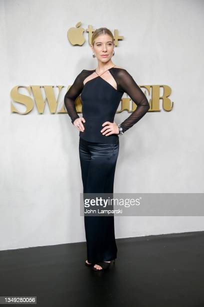 """Tessa Ferrer attends the """"Swagger"""" New York Premiere at Brooklyn Academy of Music on October 26, 2021 in New York City."""