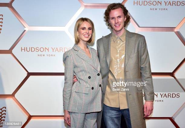 Tessa Hilton and Barron Hilton II attend the Hudson Yards Grand Opening Party at Hudson Yards on March 14, 2019 in New York City.