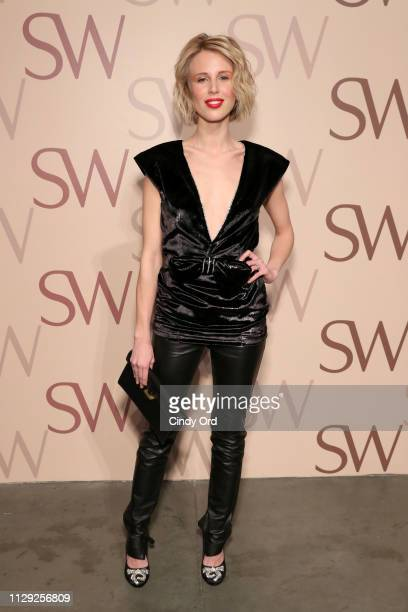 Tessa Hilton attends Stuart Weitzman Spring Celebration 2019 on February 12 2019 in New York City