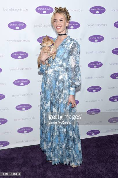 Tessa Hilton attends the Animal Haven Gala 2019 at Tribeca 360 on May 22, 2019 in New York City.