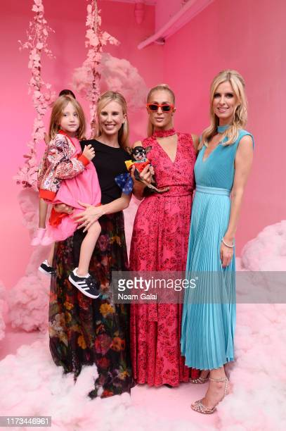 Tessa Hilton Paris Hilton and Nicky Hilton attend the Alice Olivia By Stacey Bendet Presentation during September 2019 New York Fashion Week The...