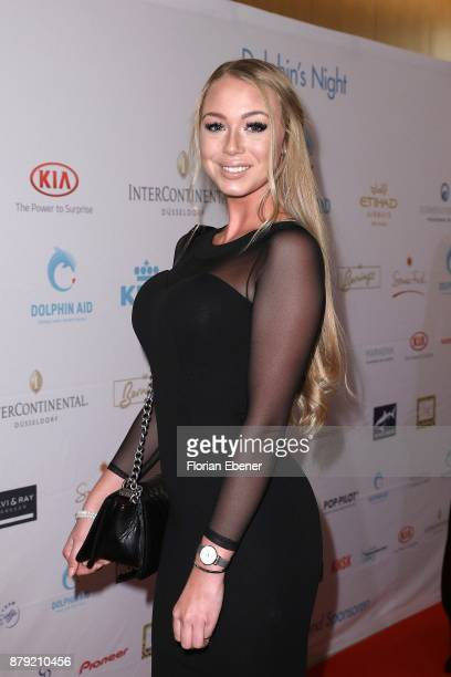 Tessa Hoevel attends the charity event Dolphin's Night at InterContinental Hotel on November 25 2017 in Duesseldorf Germany