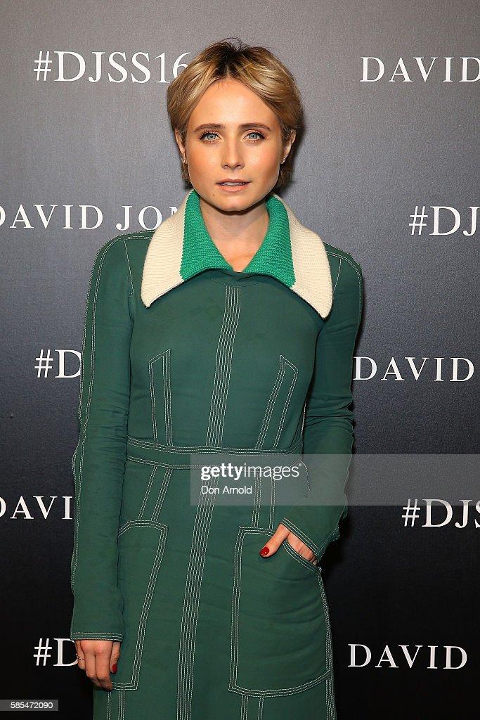 David Jones Spring/Summer 2016 Fashion Launch - Arrivals