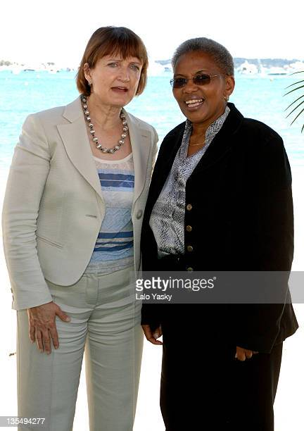 Tessa Jowell and Ntombazana Gertrude Botha during 2007 Cannes Film Festival The UK and South Africa Celebrate the New Film CoProduction Treaty at UK...