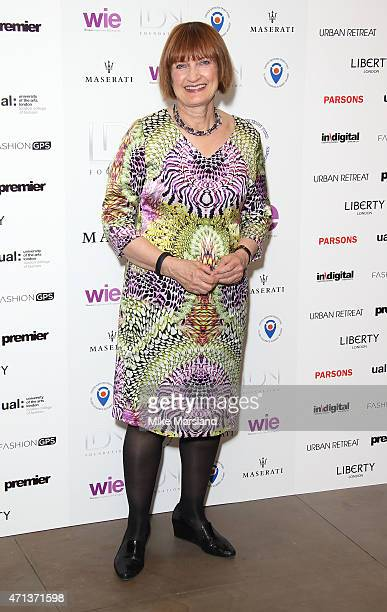 Tessa Jowell attends the LDNY Fashion show and WIE Award Gala at Goldsmiths' Hall on April 27 2015 in London England