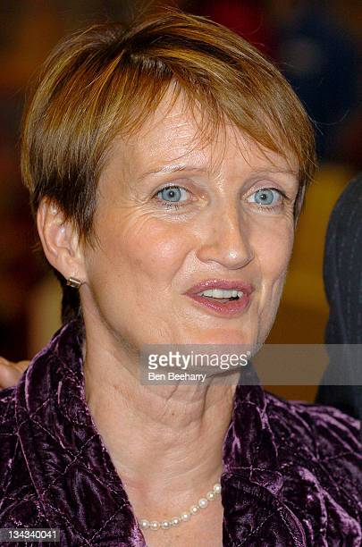 Tessa Jowell during Great Britain Olympic Team Welcome Home Party at Hamleys in London Great Britain