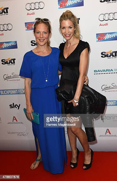 Tessa Mittelstaedt and Nina Fredericke Gnaedig attend the Audi Director's Cut at the Praterinsel during the Munich Film Festival at Praterinsel on...