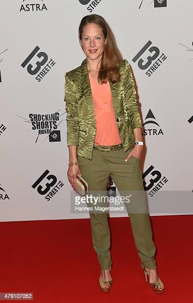 Tessa Mittelstaedt attend the Shocking Shorts Award 2015 during the Munich Film Festival on June 30 2015 in Munich Germany