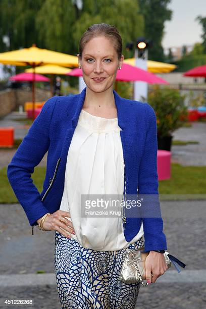 Tessa Mittelstaedt attends the producer party 2014 of the Alliance German Producer Cinema And Television on June 25 2014 in Berlin Germany