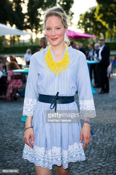 Tessa Mittelstaedt attends the Summer Party of the German Producers Alliance on June 7 2018 in Berlin Germany