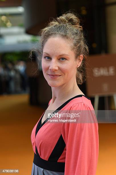 Tessa Mittelstaedt attends the ZDF reception during the Munich Film Festival at Hugo's on June 30 2015 in Munich Germany