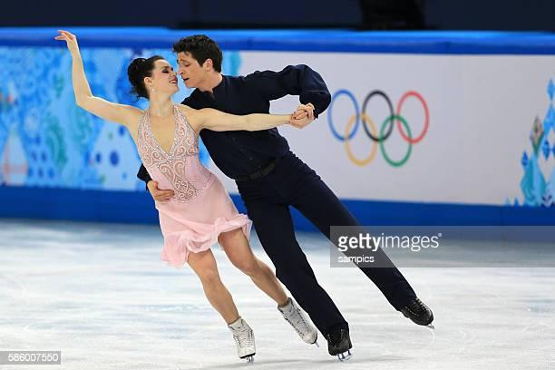 Tessa / MOIR Scott CAN Zweite Silbermedailiengewinner Silver Eistanz Kür ice dance free Eiskunstlaufen Figure skating olympic winter games 2014 sochi...