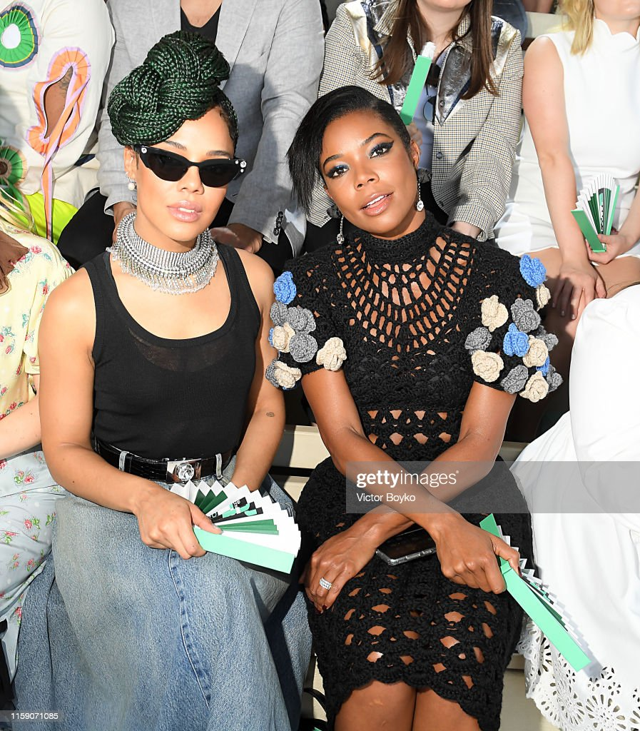 Miu Miu Club 2020 - Front Row : News Photo