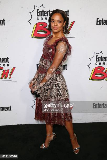 Tessa Thompson at Entertainment Weekly's annual ComicCon party in celebration of ComicCon 2017 at Float at Hard Rock Hotel San Diego on July 22 2017...