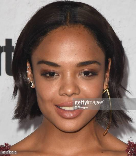 Tessa Thompson attends Entertainment Weekly's annual ComicCon party in celebration of ComicCon 2017 at Float at Hard Rock Hotel San Diego on July 22...
