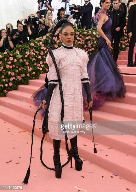 Tessa Thompson attends The 2019 Met Gala Celebrating Camp Notes on Fashion at Metropolitan Museum of Art on May 06 2019 in New York City