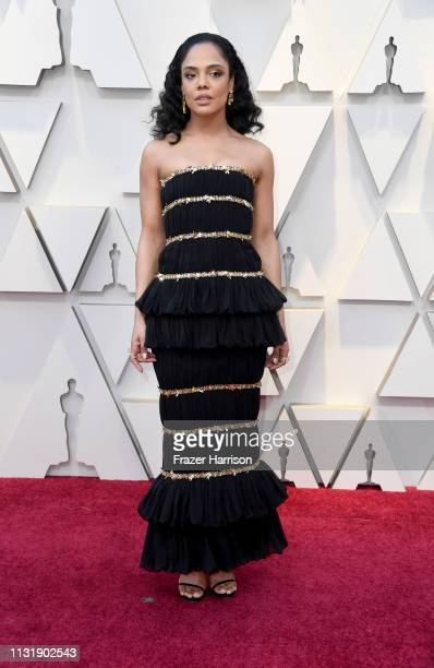 Tessa Thompson attends the 91st Annual Academy Awards at Hollywood and Highland on February 24 2019 in Hollywood California